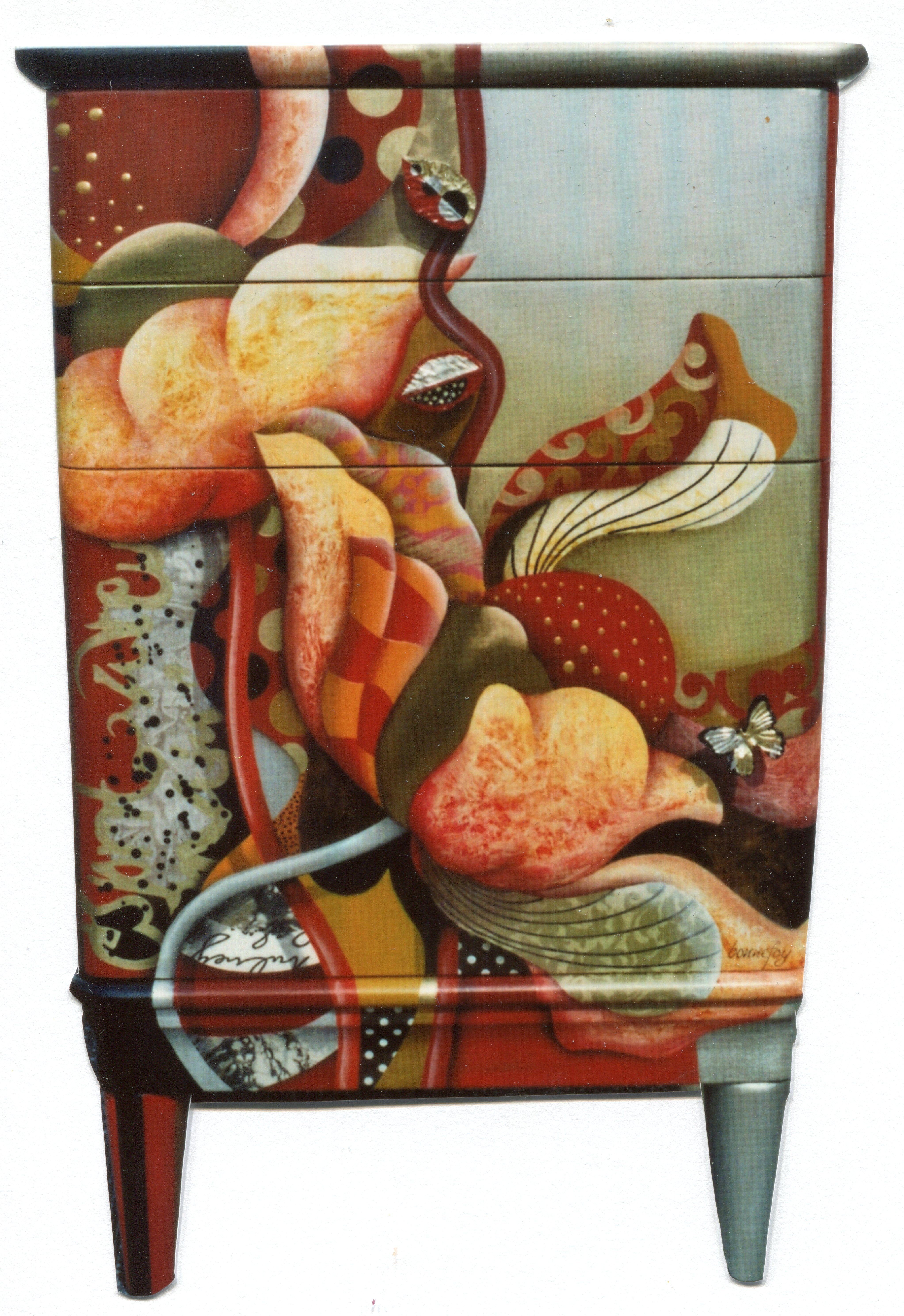 Meubles peints | Chantal BONNEFOY